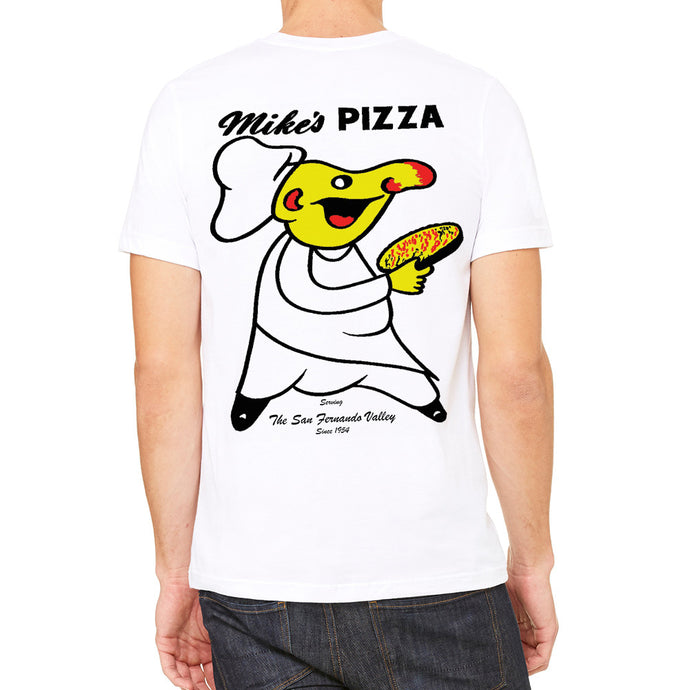 Mike's Pizza White Men's T-Shirt