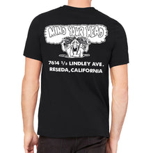 Mind Your Head Black Men's T-Shirt