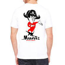 Muntz Men's White T-Shirt