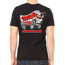 Pioneer Chicken Men's Black T-Shirt
