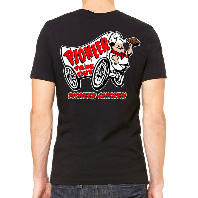 8d6e8009 Pioneer Chicken Men's Black T-Shirt