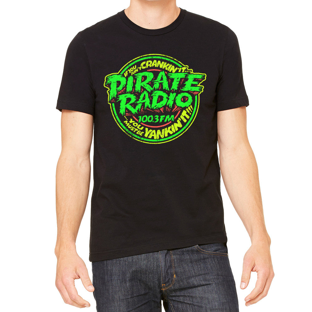 Pirate Radio Men's Black T-Shirt