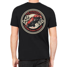 San Fernando Drag Strip Men's Black T-Shirt