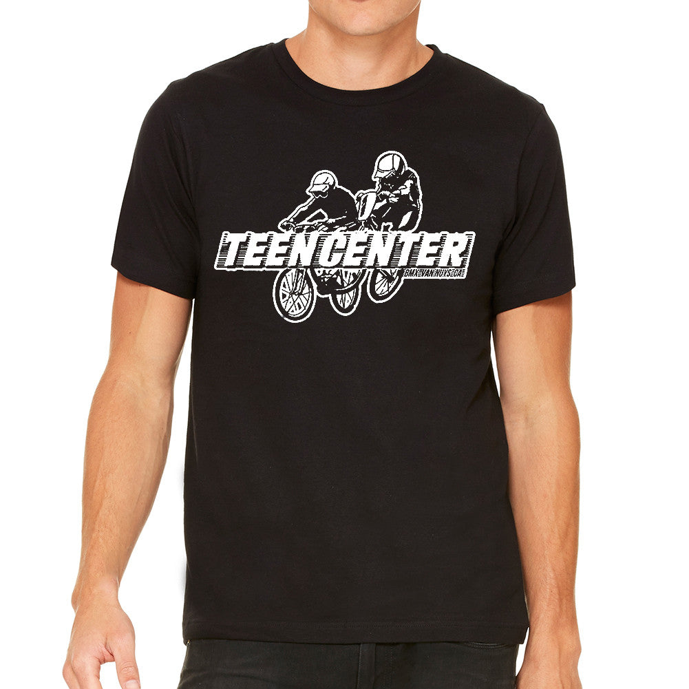 Teen Center Black Men's T-Shirt