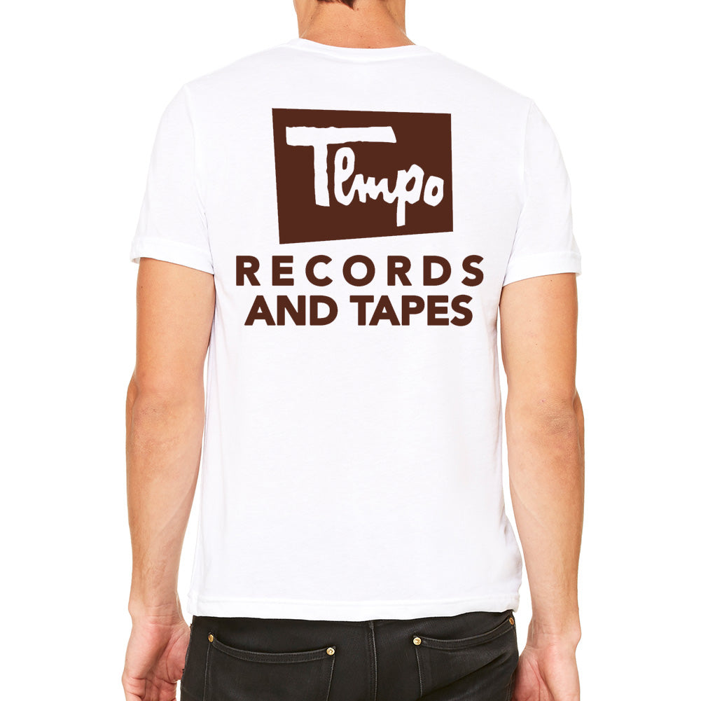 Tempo Records Men's White T-shirt
