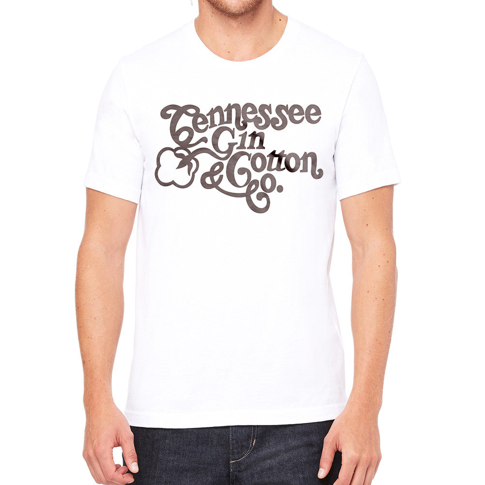 Tennessee Gin Cotton Men's White T-Shirt