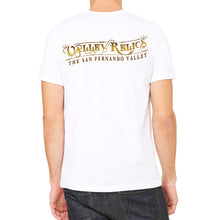Valley Relics Logo White Men's T-Shirt