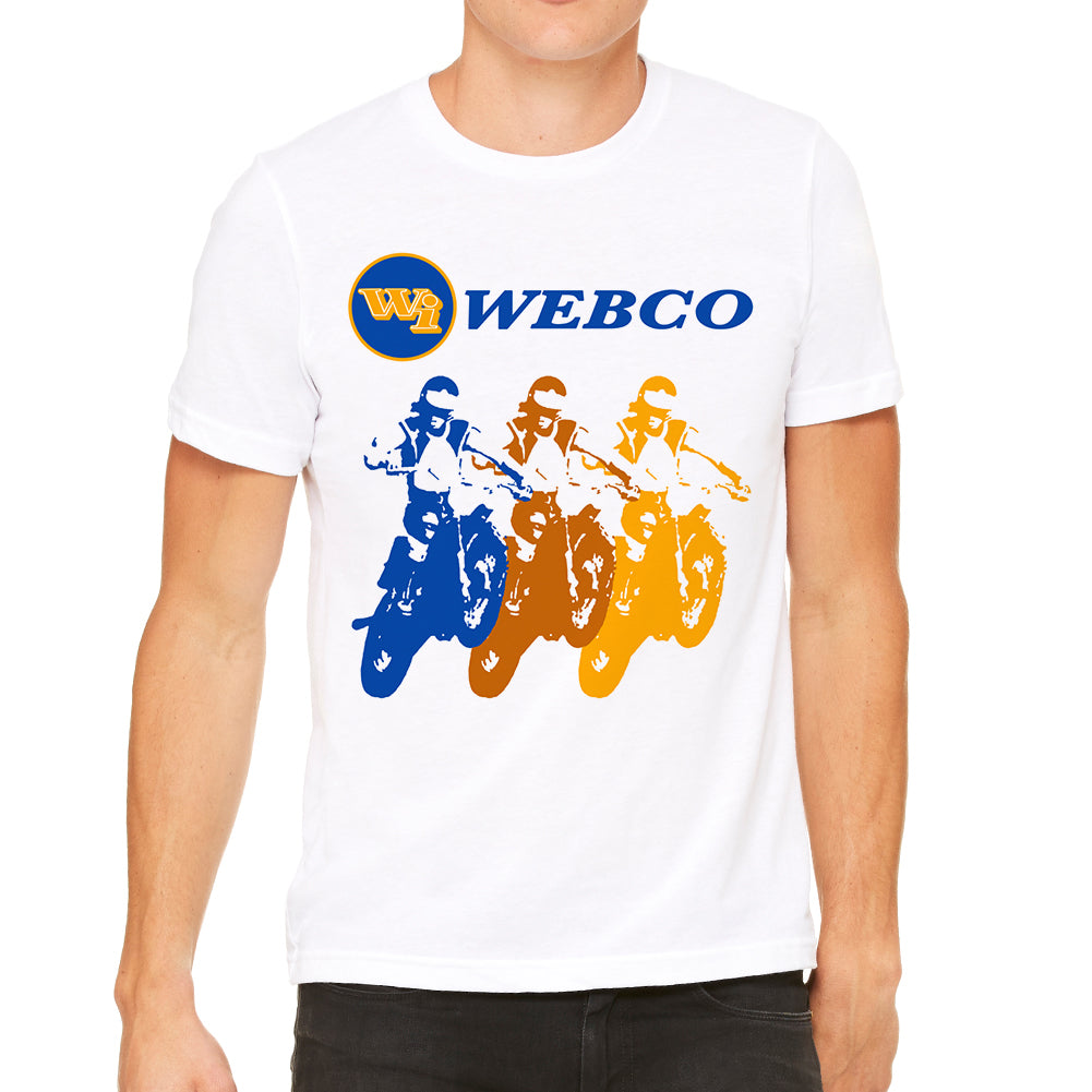 Webco Inc Triple Bike BMX Men's White T-Shirt