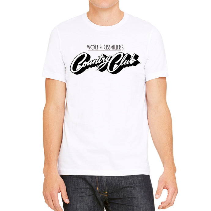 Wolf and Rissmiller's Country Club White Men's T-Shirt