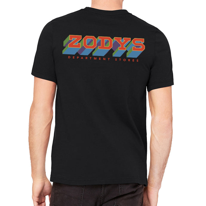 Zody's Department Store Black Men's T-Shirt