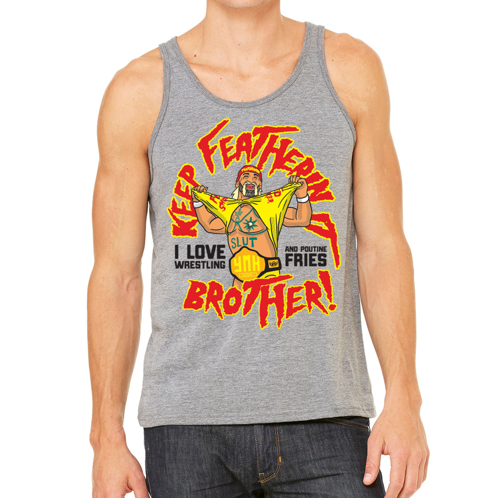 YMH Champ Men's Heather Grey Tank
