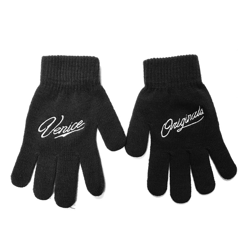 Venice Originals Black Gloves