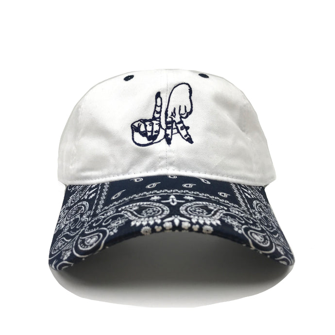 LA Hands Blue Bandana Dad Hat