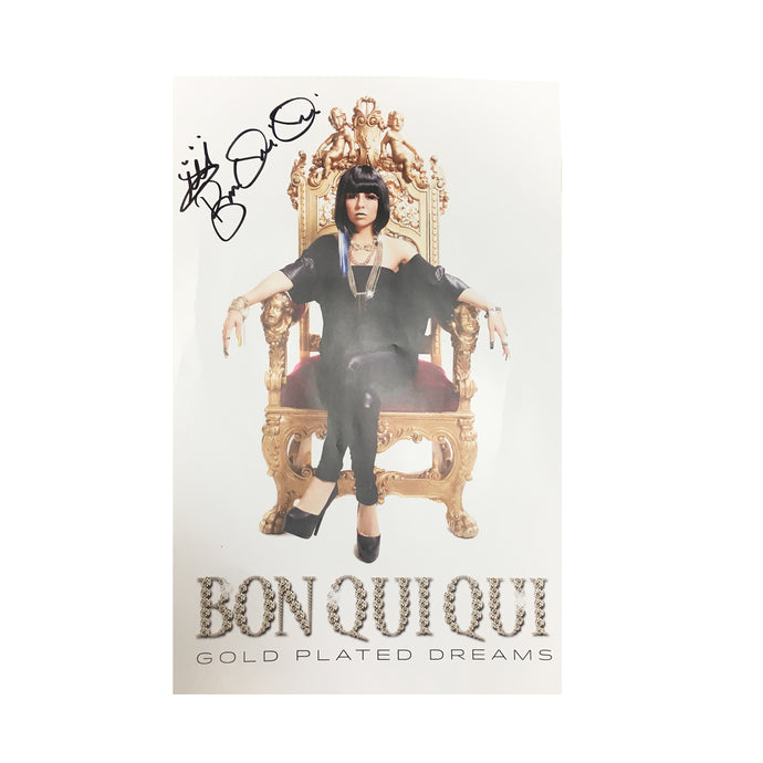 Bon Qui Bui Signed Poster