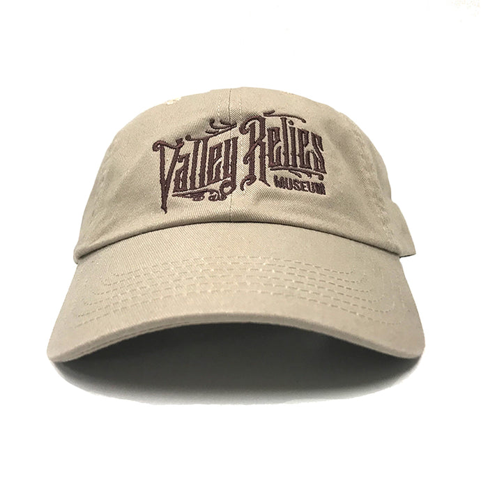 Valley Relics Museum Dad Hat - Khaki