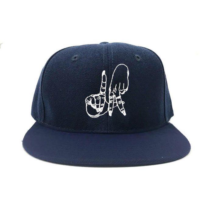 Estevan Oriol LA Sign Navy Blue Snapback