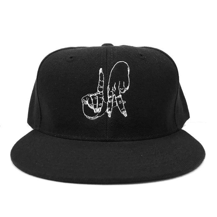 Estevan Oriol LA Sign Black Snapback
