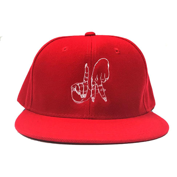 Estevan Oriol LA Sign Red Snapback