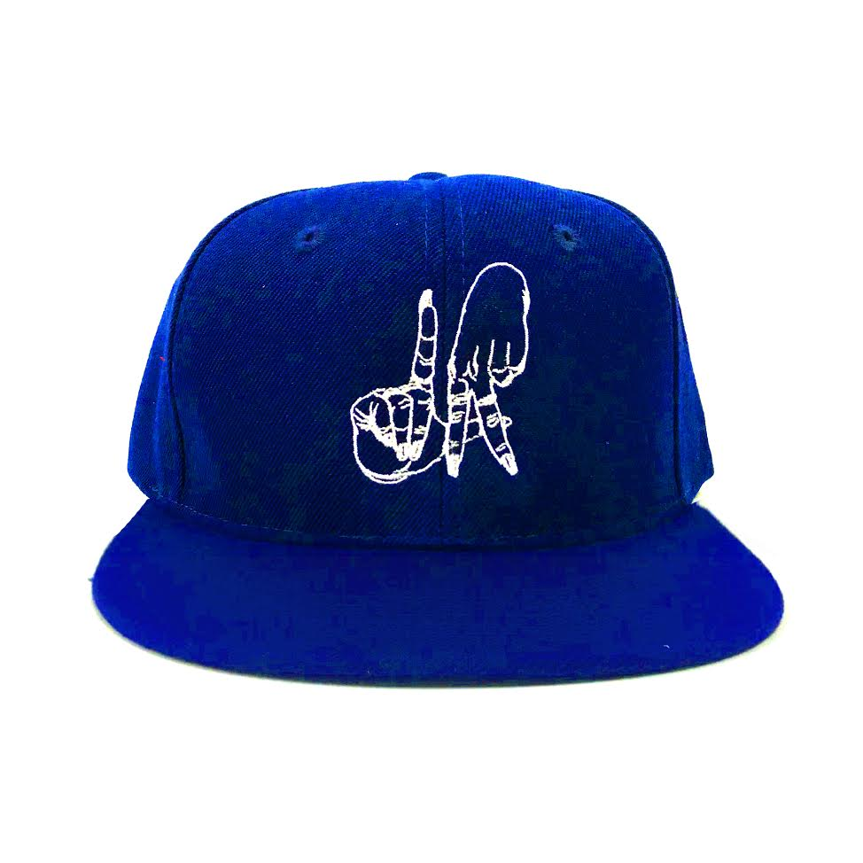 LA Hands Royal Blue Snapback