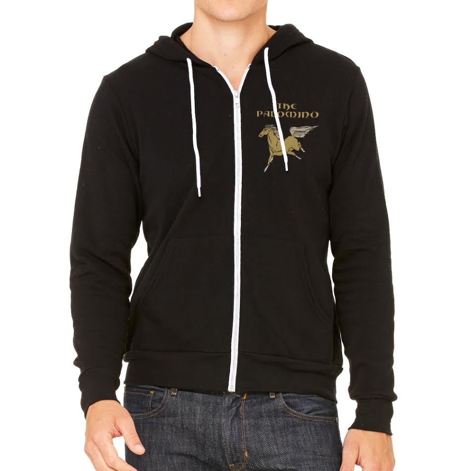 The Palomino Slim Fit Men's Black Hoodie