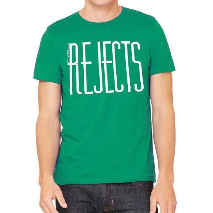 The Rejects Men's Green Vintage T-shirt