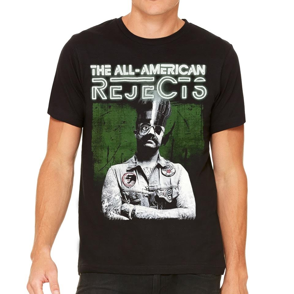 General Men's Black Vintage T-shirt