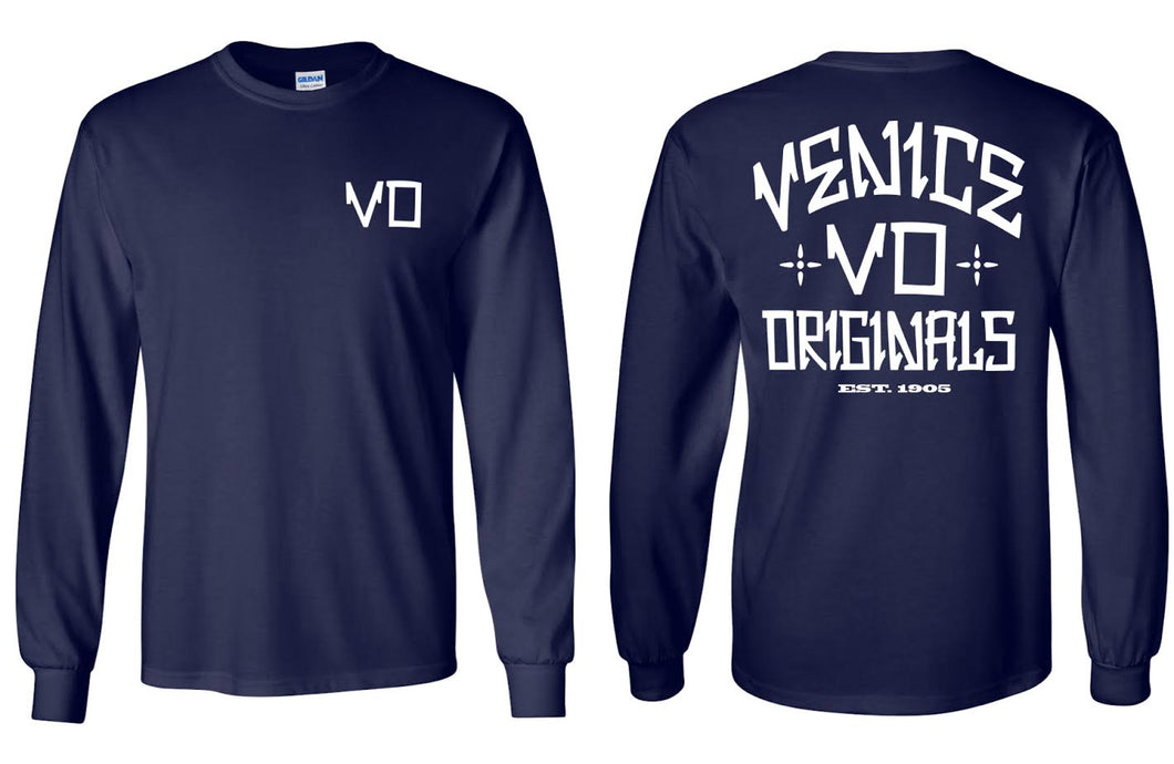 The VO Navy Long Sleeve
