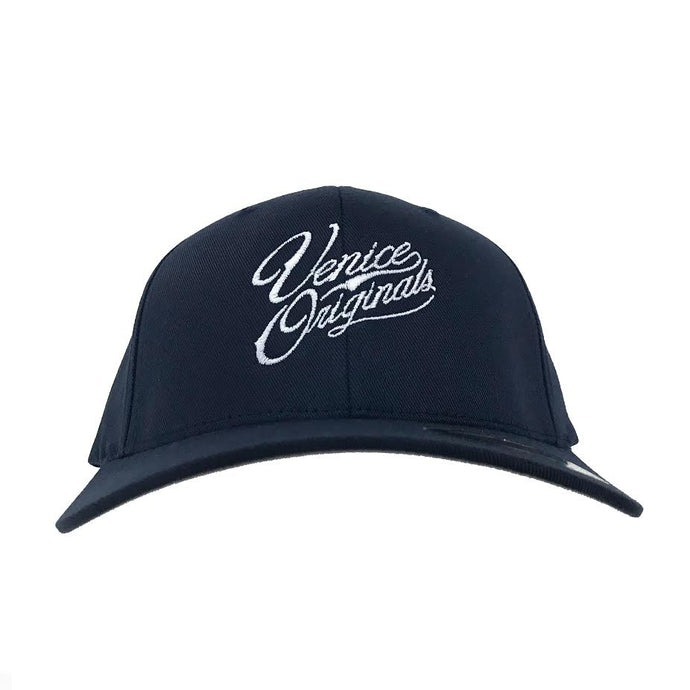 Venice Originals Script Blue Flex Fit Hat