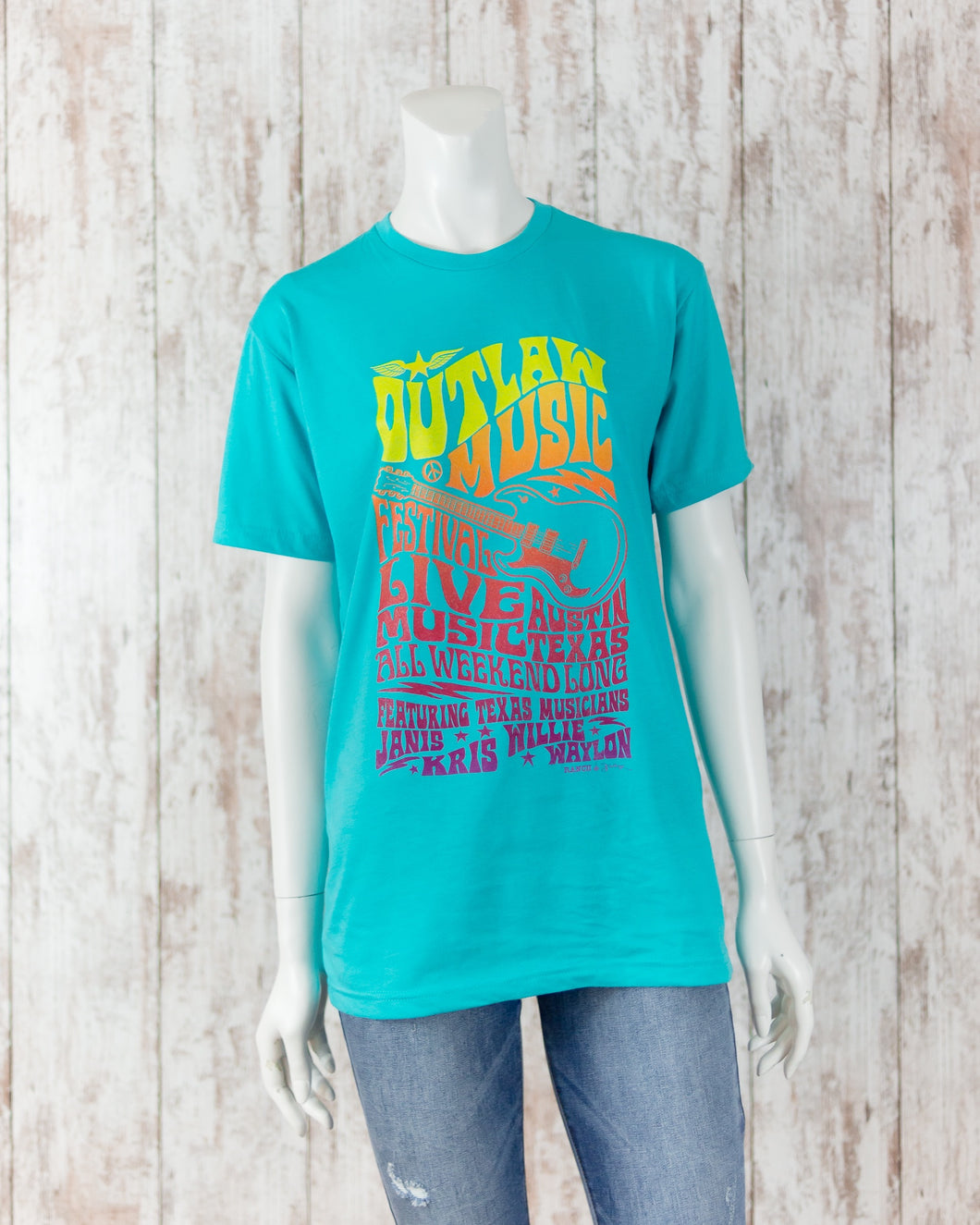 Outlaw Music Festival Graphic Tee