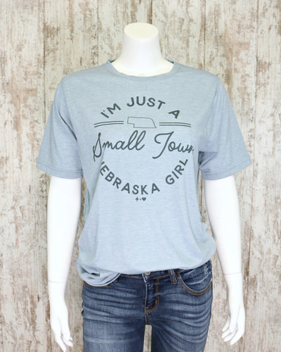 Small Town Nebraska Girl Tee