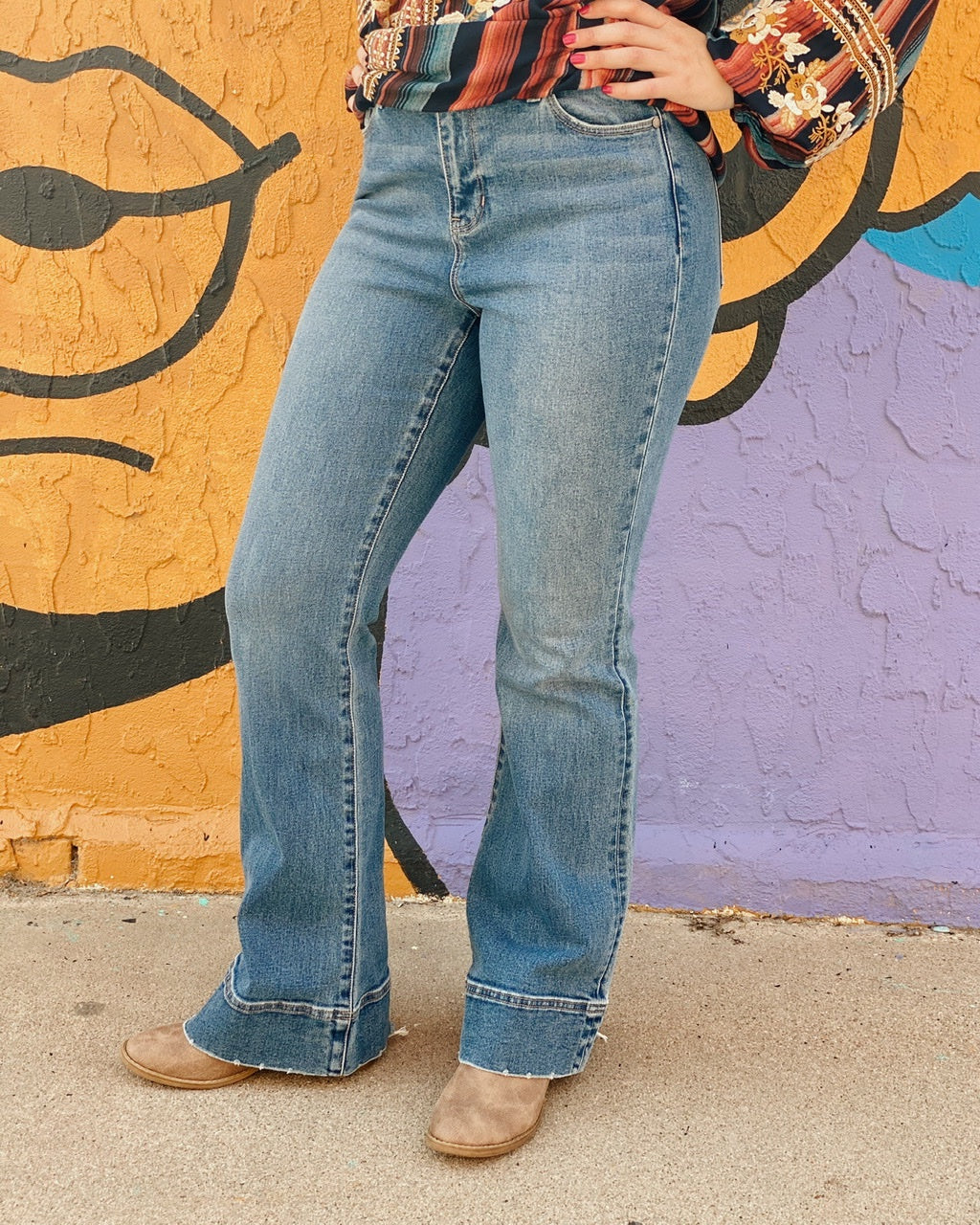 Liverpool Lucy Bootcut Wide Waistband w 33In Inseam