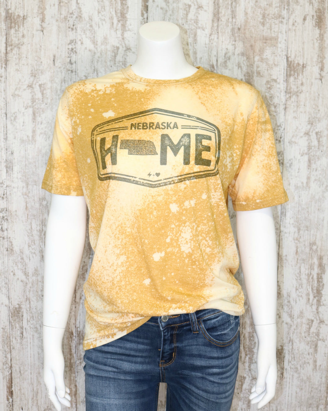 Bleached Home Cheetah Nebraska Tee