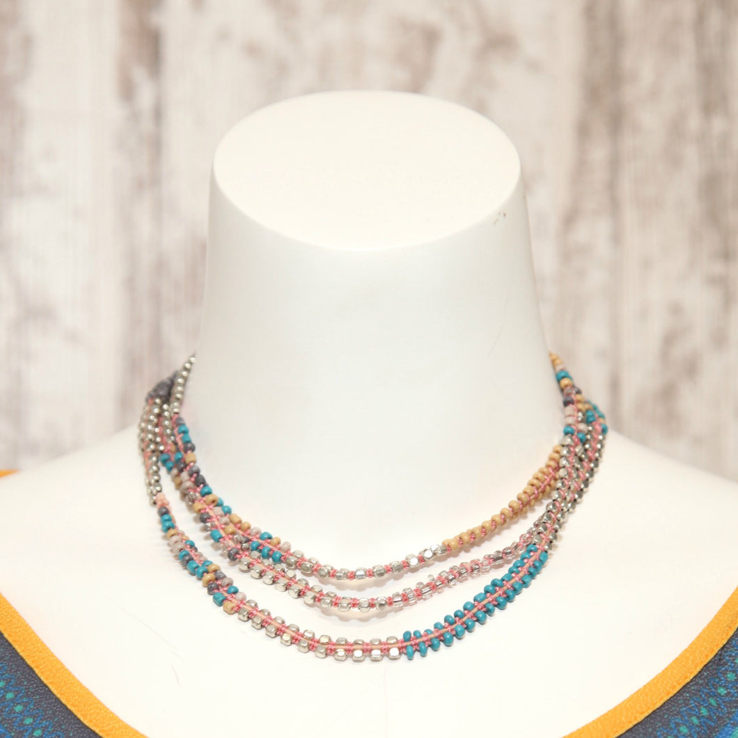 GC Glass String Necklace 403652