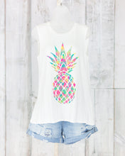 Sleeveless Pineapple Tank