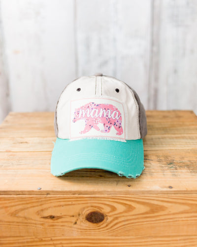 Mama Bear Patch Hat