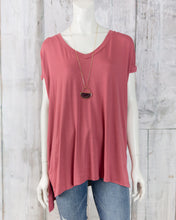 ANG V Neck Knit Top X2K05-ASIS