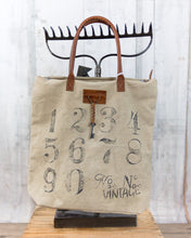 Tote Bag By The Numbers 4446