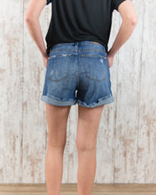 Hi Waist Low Cuff Shorts