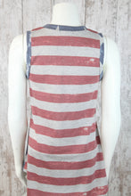 Slvless Stars and Stripes Tank T8361