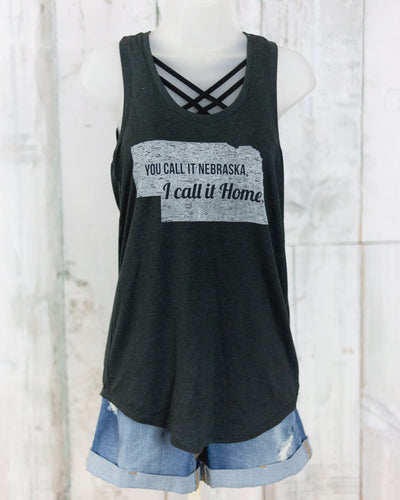MJL I Call It Home Racerback Tank Top