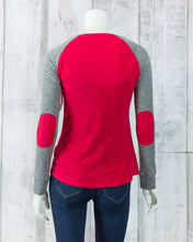 Long Sleeve Elbow Patch NE Tee