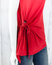 Sleeveless Self Tie Top KT91406