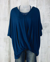 UMG Relaxed Fit Surplice Top R7160