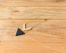 Triangle Chevron Necklace