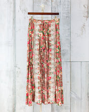 Floral Walk-Through Skirt