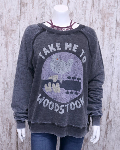 Take Me To Woodstock Crew Sweatshirt 301227