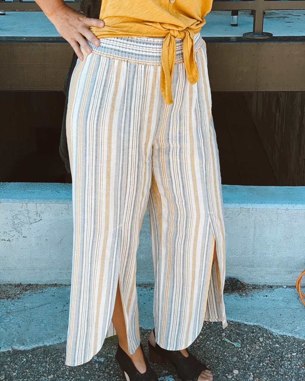 Envelope Stripe Pant 307A7810HA