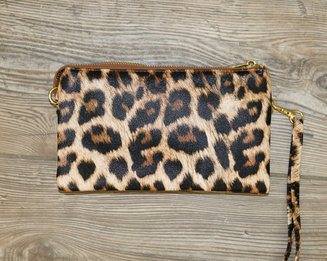 Liz Crossbody Leopard Purse P14E-P1214