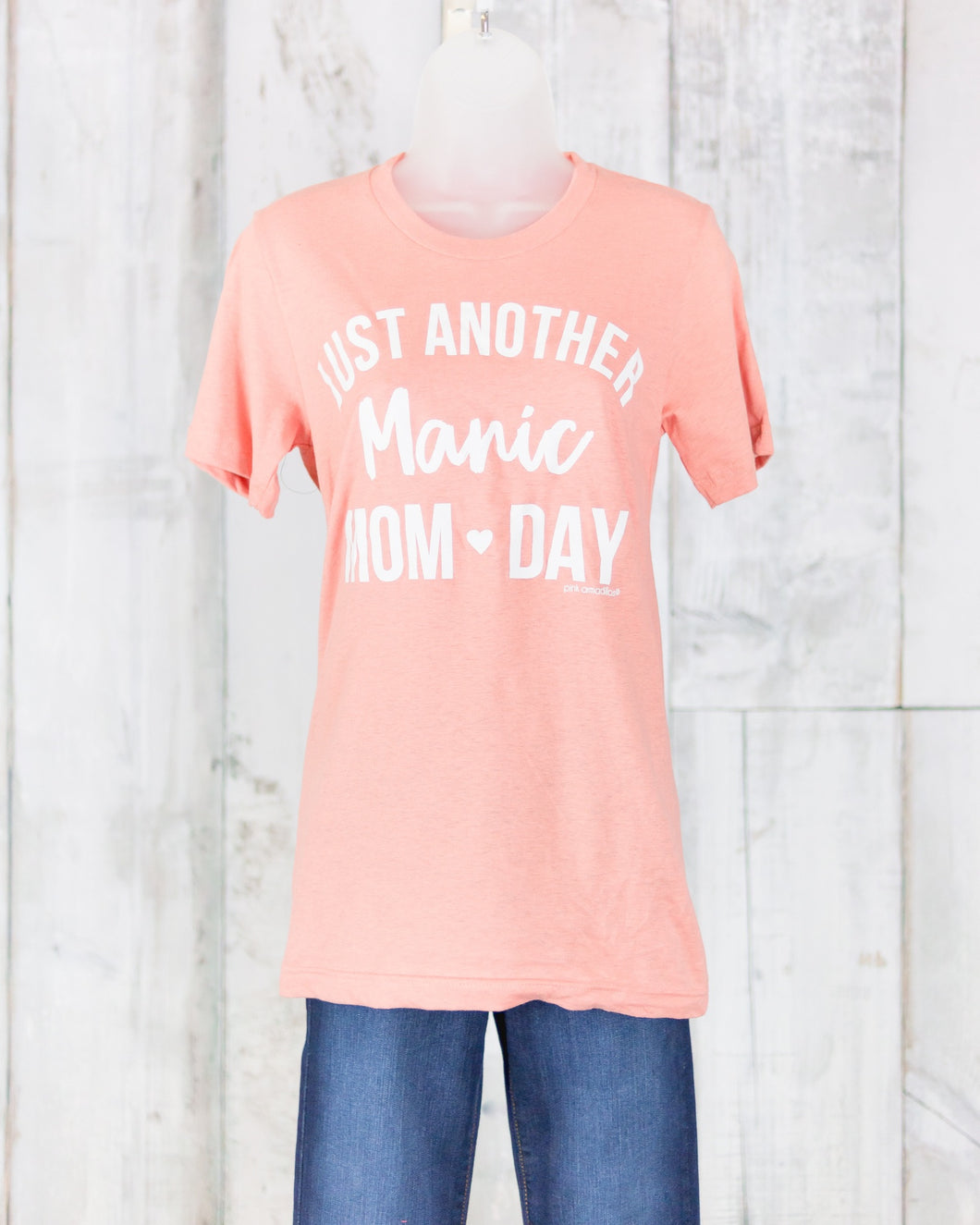 PA Just Another Manic Mom Day Tee JAM-VRT