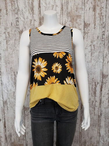 Summer Sun Colorblock Tank 6383E